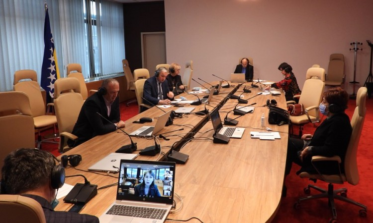Ad Hoc Inquiry Commission on judiciary – Note on parliamentary investigations of judicial activities presented in BiH PA House of Representatives
