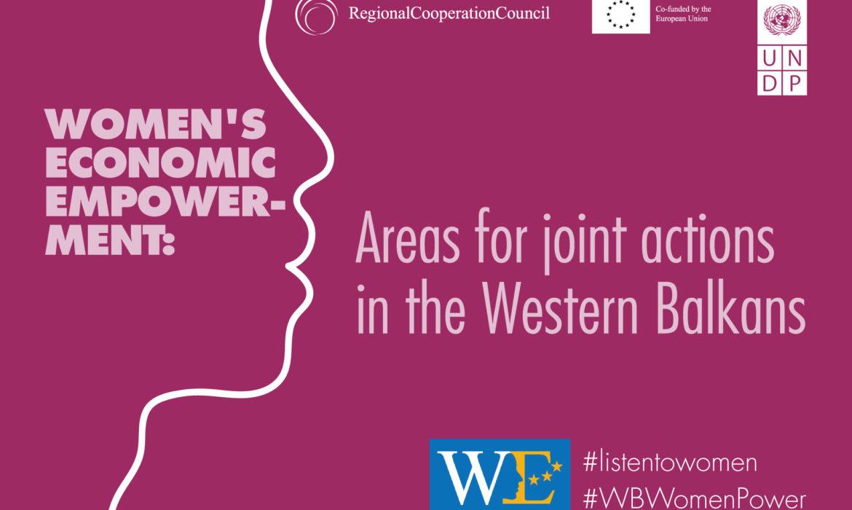 RCC, UNDP to launch Women's Economic Empowerment initiative
