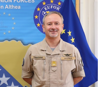 Trischak: EUFOR more than capable of meeting current and future challenges