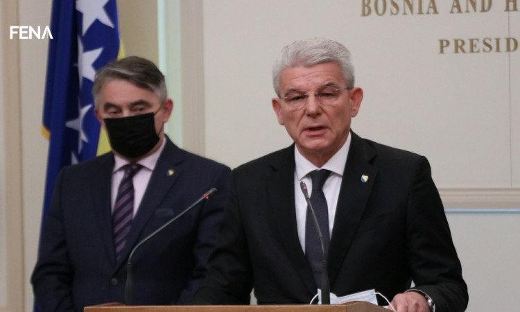 Komšić and Džaferović: We do not agree to be Russian pawns in the Balkans