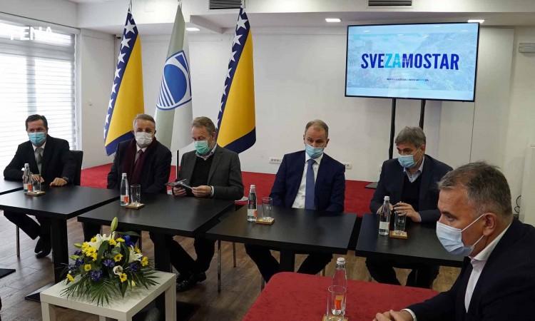 Izetbegović: Mostar should be a united city, I hope there would be no blockades