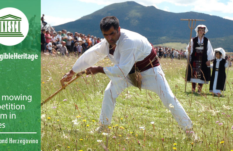 Kupres grass mowing competition included as Intangible Heritage to the UNESCO World Heritage List