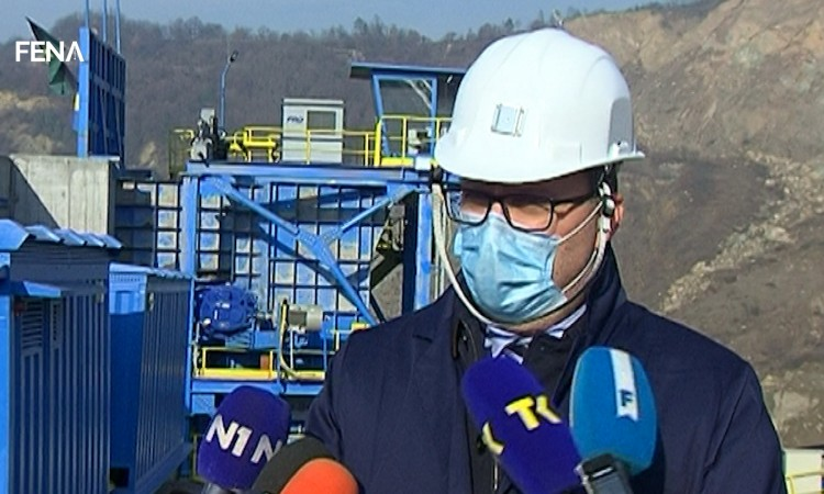New equipment worth 51 million KM put into operation in the Banovići Coal Mine