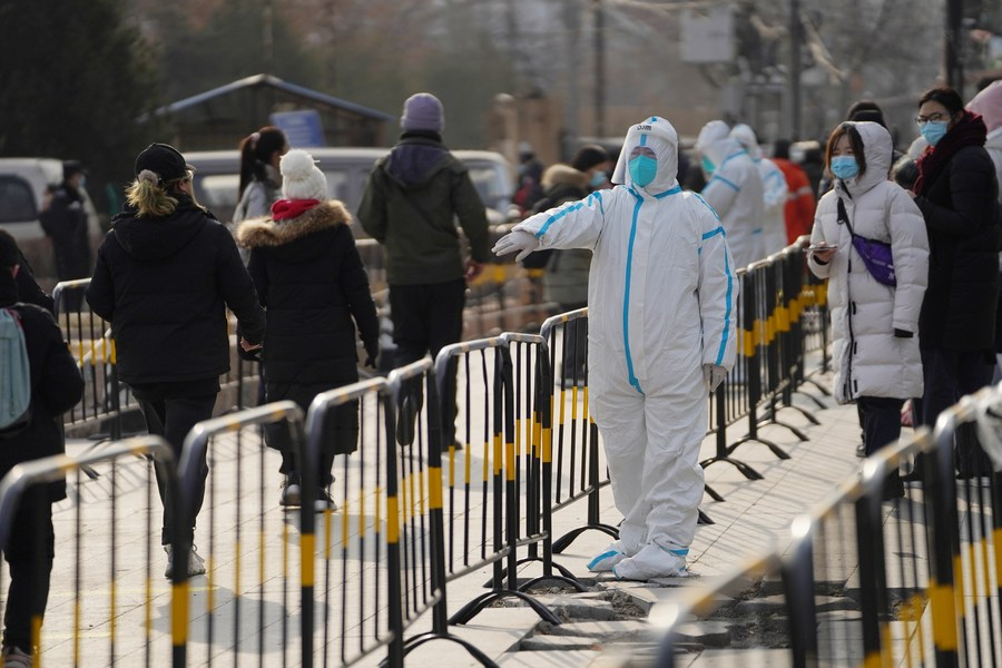 Beijing tightens epidemic prevention measures