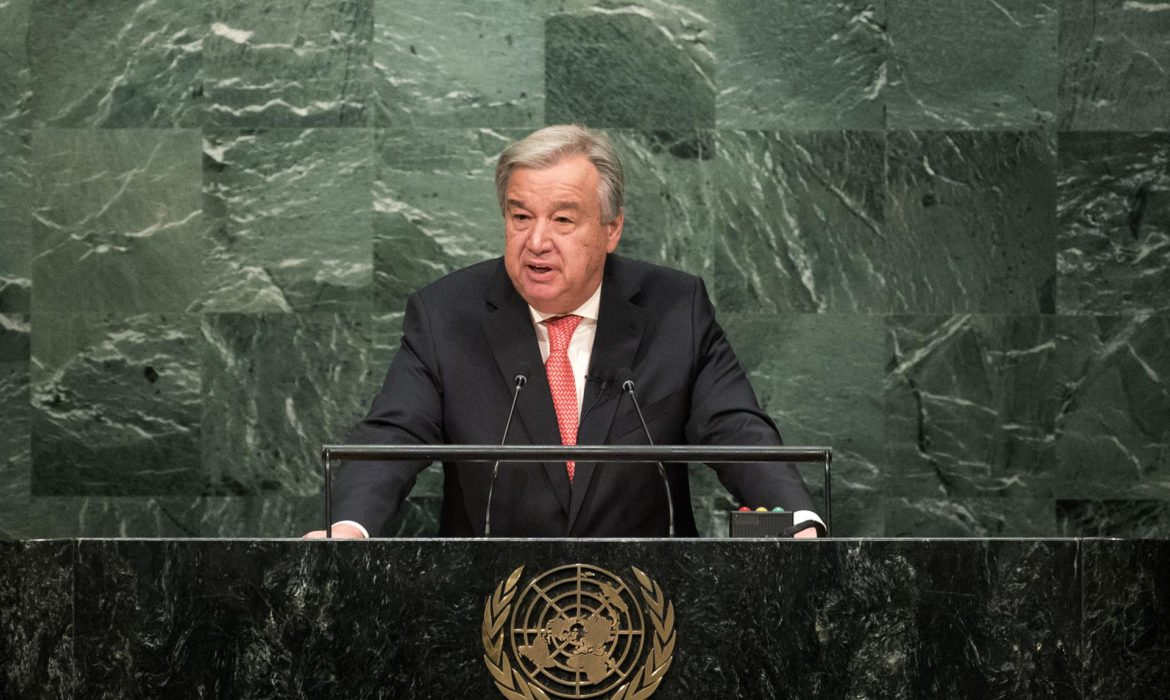 UN chief calls for 'year of healing' in 2021