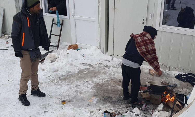 Better conditions for migrants at Lipa near Bihać