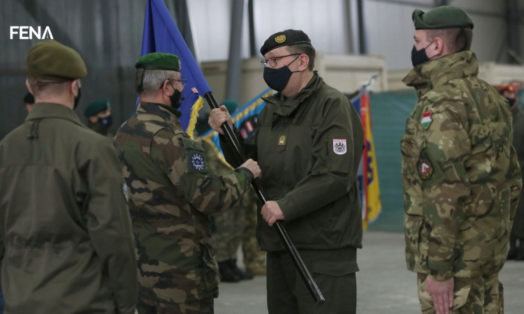Major General Alexander Platzer takes over duty of EUFOR Commander