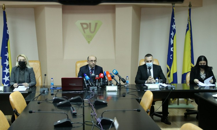 Isović: FBiH Tax Administration collected three percent fewer revenues in 2020