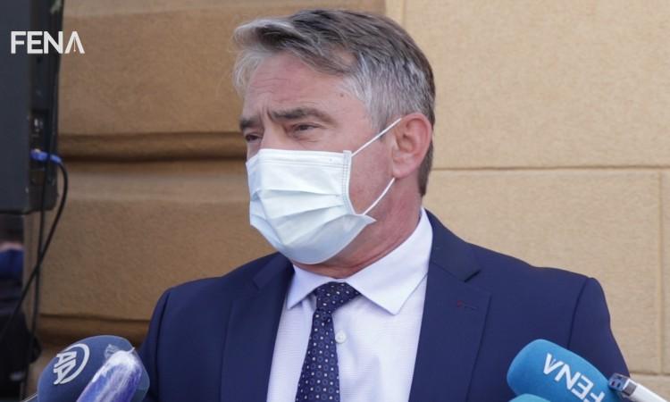 Komšić: Unseemly attacks on BiH media due to reporting on Dodik-Russia affair