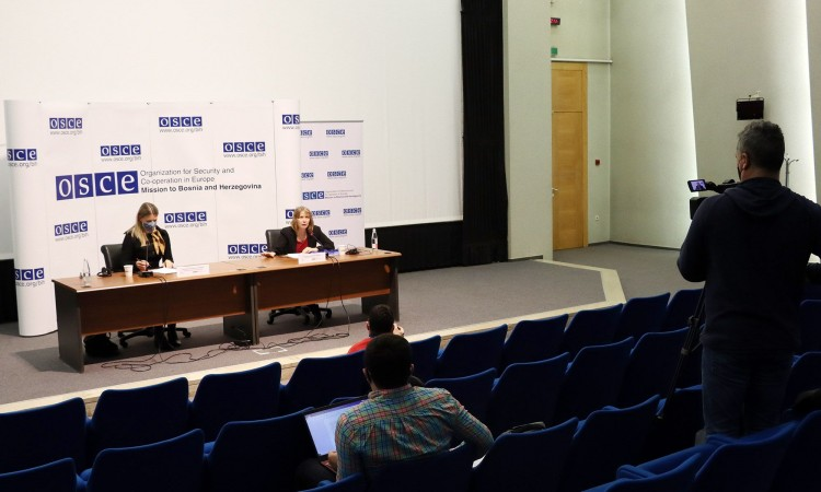 OSCE and Swedish Embassy to BiH present priorities of OSCE Swedish Chairpersonship