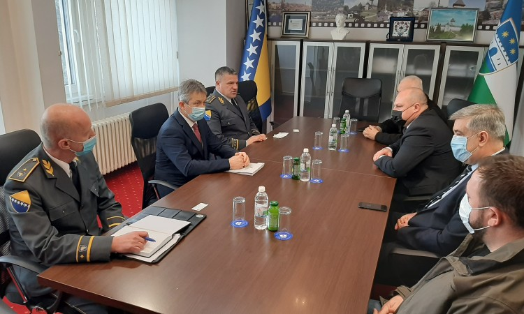 Galić: It is impossible to protect border with one patrol within an area of 32 kilometers