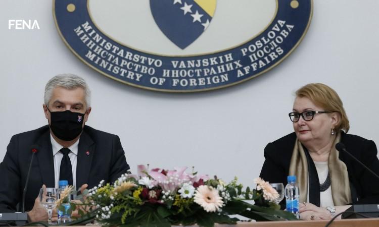 Korčok: Slovakia continues to support BiH on its European path