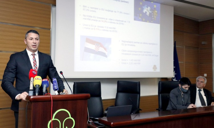 Vuković: BiH exports in recovery since end of 2020, transport still impeded
