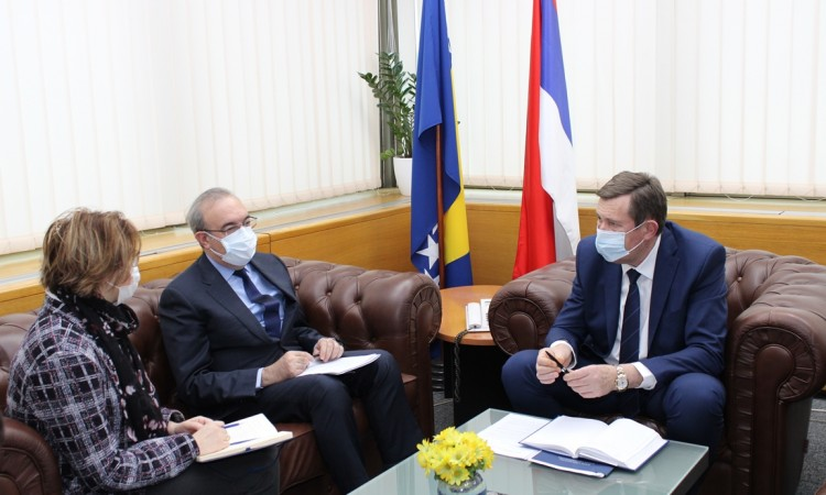 Mitrović – Koç: Sarajevo-Belgrade motorway important for BiH, Serbia and Turkey