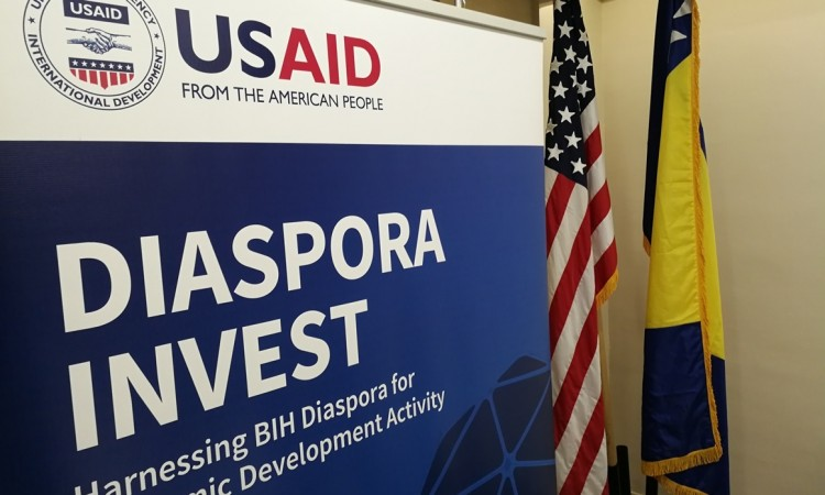 More than 31m KM of investments of BiH diaspora since 2017 with help from USAID