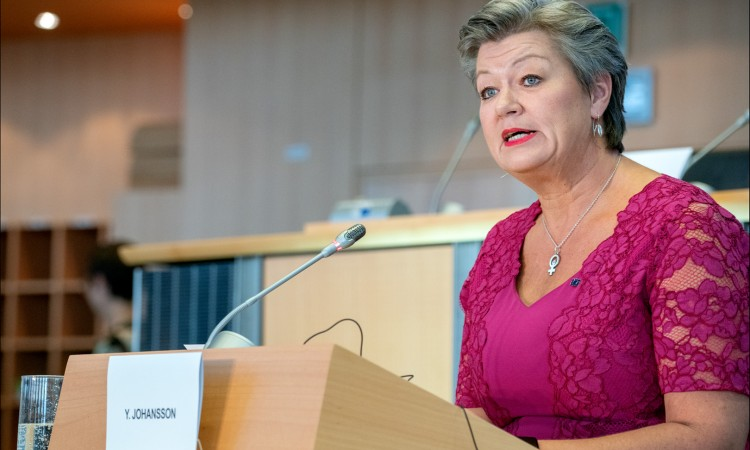 EU Home Affairs Commissioner Ylva Johansson on a two-day visit to BiH