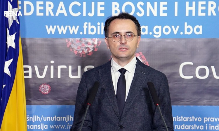 Musa: Incidence of disease in FBiH lower, but increased number of new cases in Sarajevo Canton