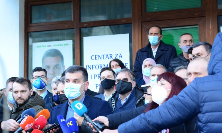 Tabaković: Support of pro-Bosnian political party leaders to boycott elections in Srebrenica