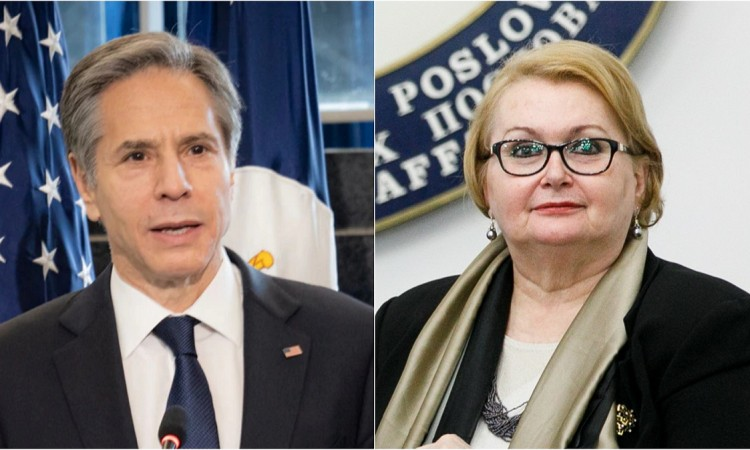 US Secretary of State Blinken sends a letter to BiH Foreign Minister Turković