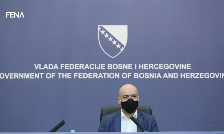 Čerkez: Federation of BiH has capacity for more than 250,000 doses of vaccines