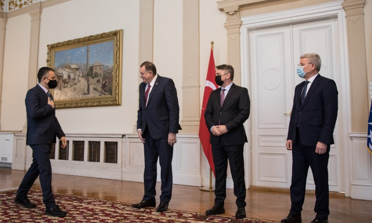 Members of BiH Presidency receive Turkish Agriculture Minister Pakdemirli