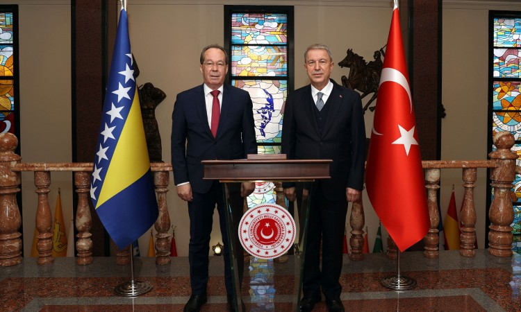 The agreement with Turkey provided 200 million TL for the modernization of BiHAF