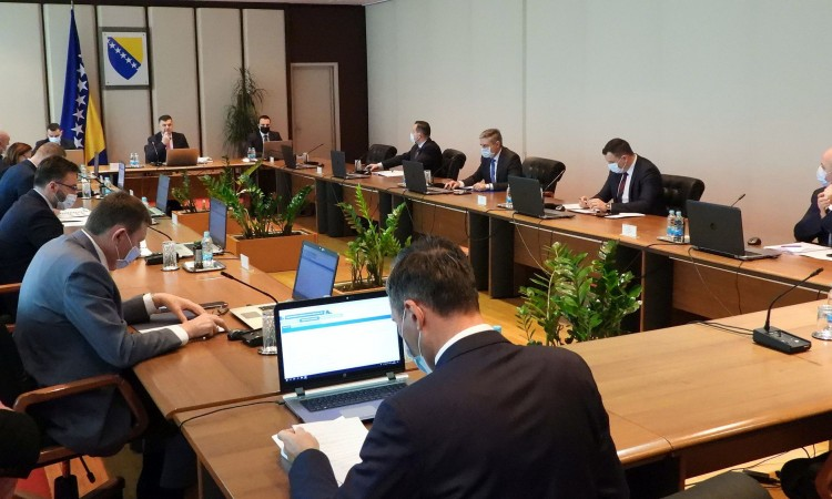 BiH Council of Ministers adopts decisions necessary for procurement of vaccines