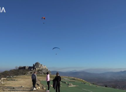 Ljubuški Fortress in the top four paragliding destinations in the Balkans