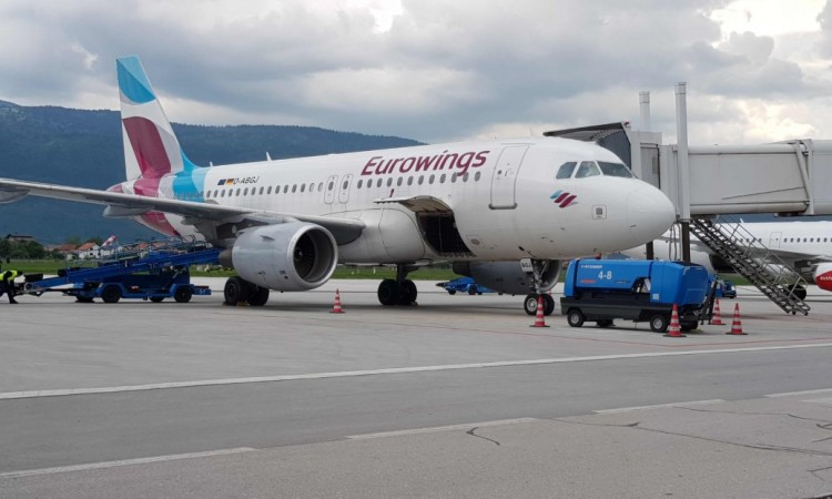 Eurowings to reintroduce flights from Sarajevo to Cologne and Stuttgart in April