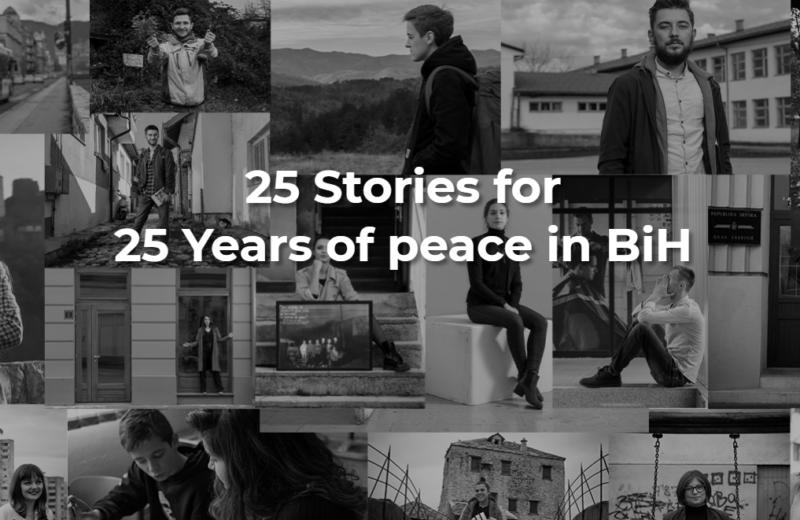 US Embassy in BiH – '25 stories for 25 years of peace in BiH'