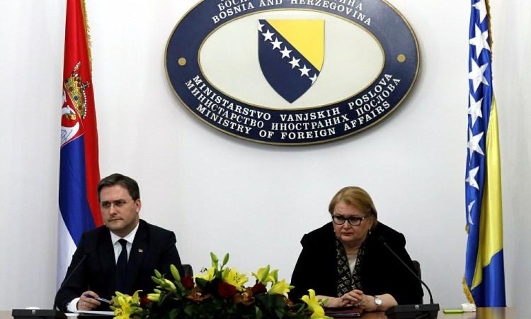 Turković-Selaković: Resolve the issues that burden relations between BiH and Serbia