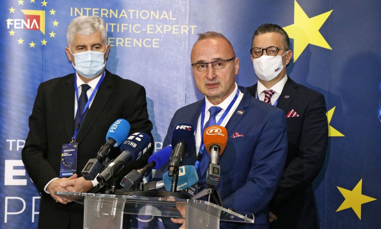 Grlić Radman: Croatia is a sincere advocate of BiH on its path to the EU