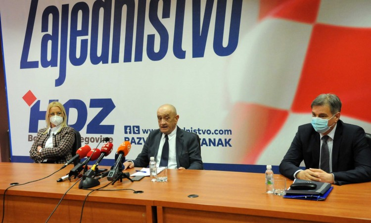 HDZ BiH, SDA and SNSD express readiness to speed up BiH's path to the EU