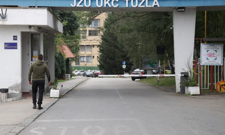 UCC Tuzla has 161 hospitalized Covid patients, health situation is getting worse