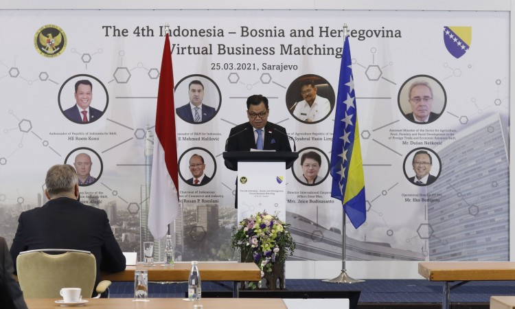Virtual business matching between Indonesia and BiH held in Sarajevo