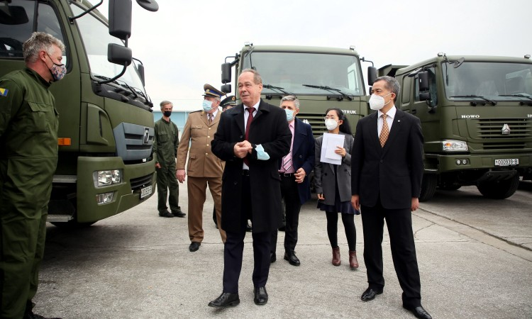 China donates equipment worth 2.5 million KM to BiH Armed Forces