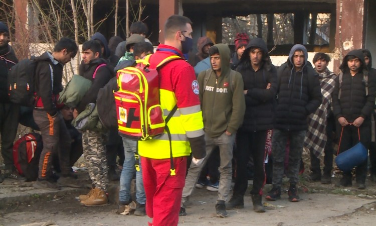 More than 130 migrants from Miral reception center tested positive for COVID-19