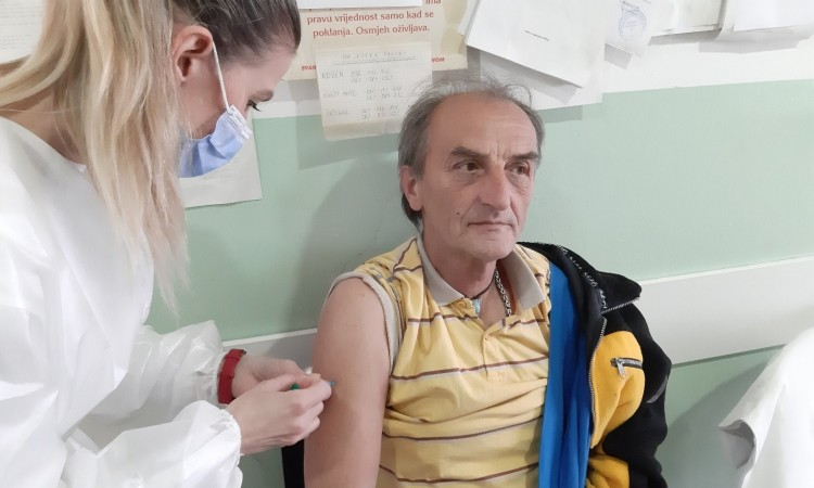 Vaccination of the elderly begins in nursing home institutions in ZDC