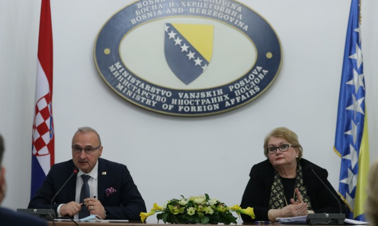Turković and Grlić Radman talk about open issues between Croatia and BiH
