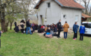 Migrant families relocated from abandoned facilities to reception centers in Una-Sana Canton