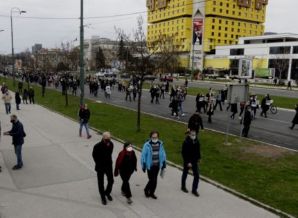 'Women's March' movement holds another 'Fight for Life' protest in Sarajevo