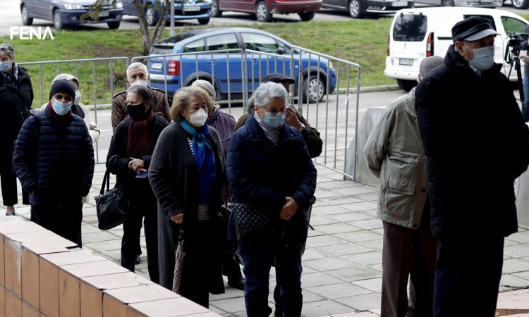 Vaccination of citizens over the age of 75 begins in Sarajevo Canton