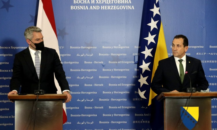 Cikotić: Austria will finance charter flights for readmission of migrants
