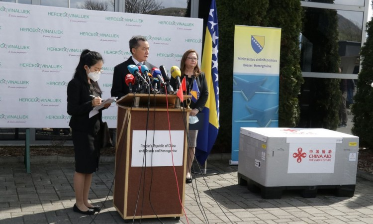 China's donation of COVID-19 vaccine arrives in Bosnia and Herzegovina
