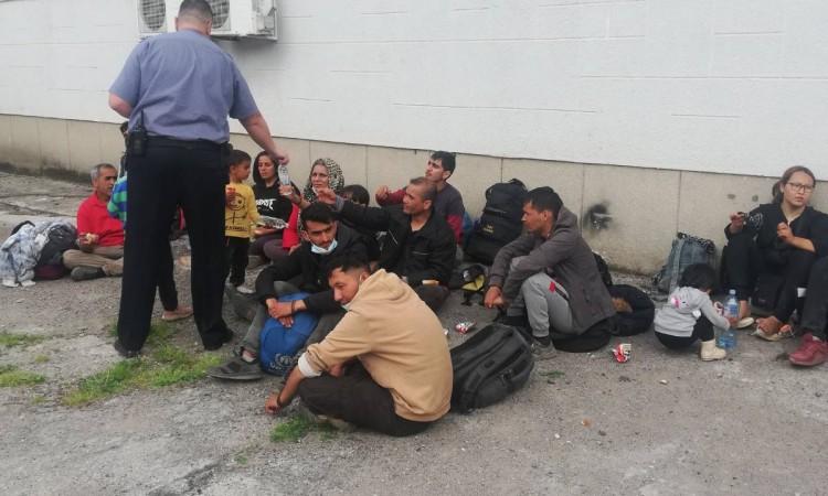 Kamenica: Increased influx of migrants in the Bosnian-Podrinje Canton