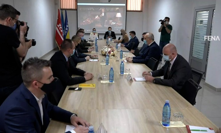 Novalić: Tešanj is a kind of economic miracle