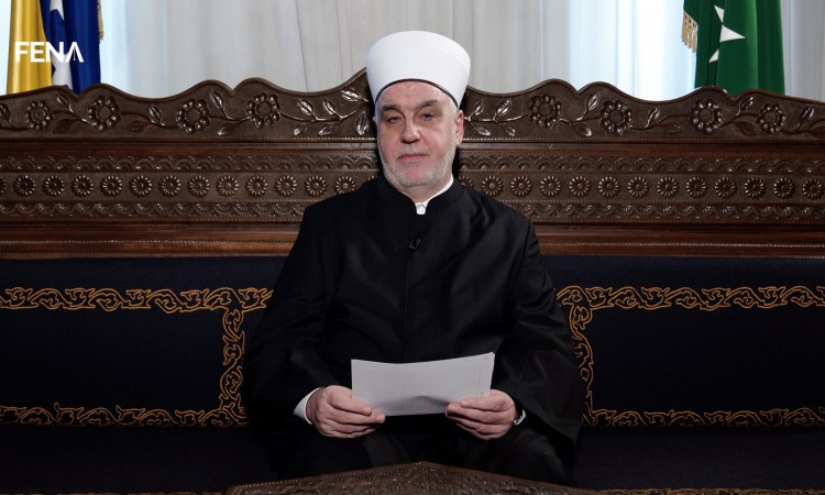 Rais Kavazović's Eid message to Muslims in BiH, homeland countries and the diaspora