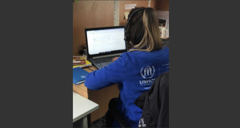 UNHCR launches free legal counsel helpline for persons who seek asylum in BiH