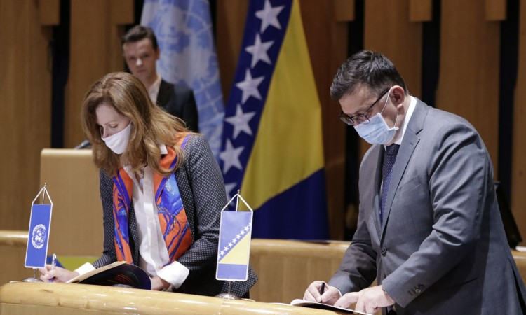 UN and BiH sign Sustainable Development Cooperation Framework
