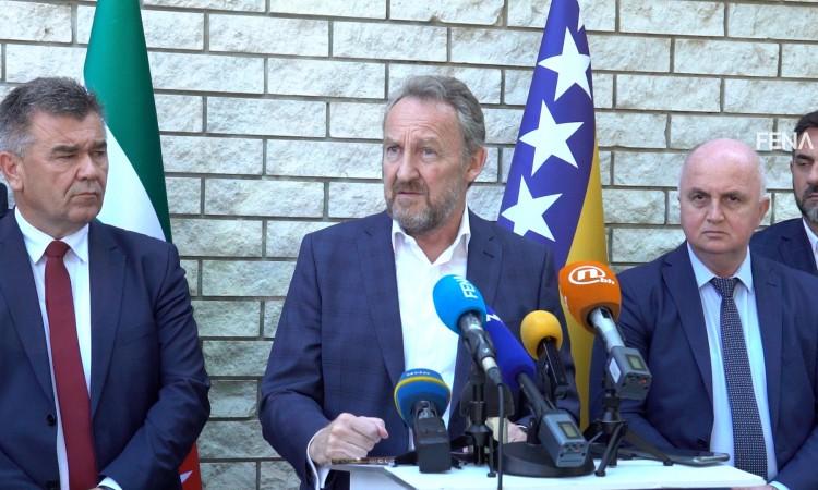 Izetbegović in Mostar: Čović announces possible unblocking of processes in FBiH